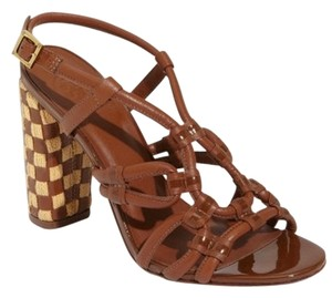 Tory Burch Brown Or Camel Sandals