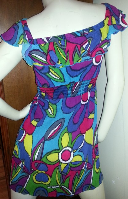 Steve Madden short dress jewel floral colors on Tradesy
