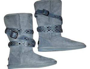 Australian Luxe Shearling Suede Gray Boots