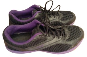 Ryka Mesh Black / Purple Athletic