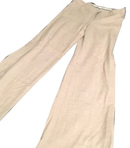 Express Wide Leg Pants Beige