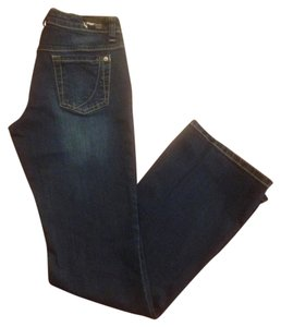 Paper Denim & Cloth Dark Wash Boot Cut Jeans