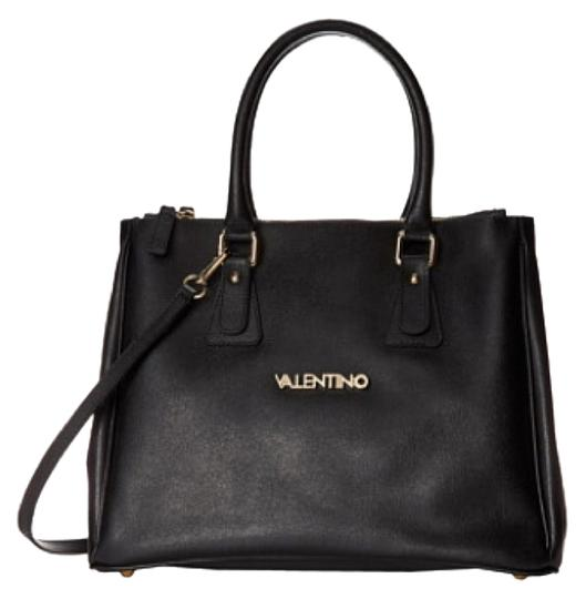 04d41c028fc58a Mario Valentino Black Satchel on Sale, 65% Off | Satchels on Sale at  Tradesy Valentino by Mario Valentino Estle Logo Leather Shoulder Bag |  Handbags