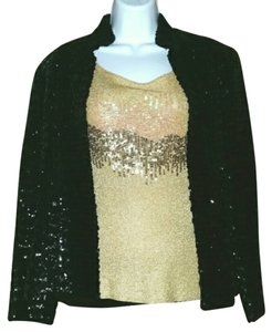 Macy's Black Sequins Blazer