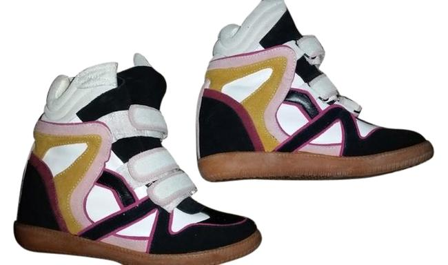 Item - Multicolor Wedge Sneakers Size US 9 Regular (M, B)