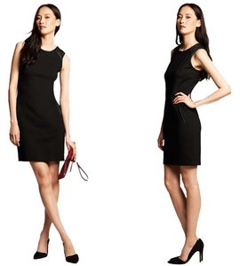 Banana Republic Faux Leather Dress