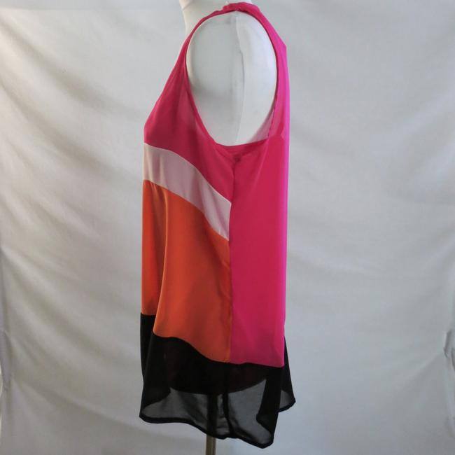 Rendezvous Top Pink/Orange/Black