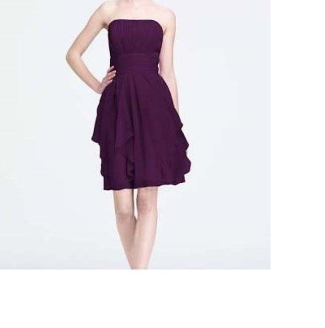 Item - Plum F14169 Modern Bridesmaid/Mob Dress Size 14 (L)