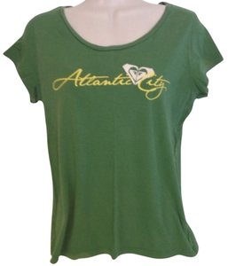 Roxy T Shirt Green