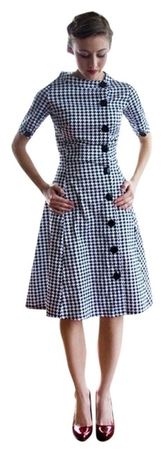 Item - Black & White Manhattan The Night Out Dress Size 4 (S)