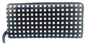Marc by Marc Jacobs Marc By Marc Jacobs Black And White Checkered Continental Wallet New With Tags