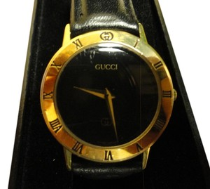Gucci Elegant Gucci 3100J Jeweler Verified Men's Watch Swiss Made Authentic Accurate Time Gucci Band