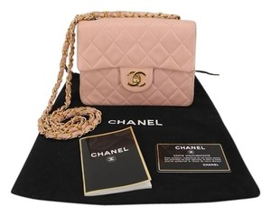 Chanel Flap Quilted Leather Mini Shoulder Bag