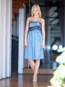 Kenneth Winston Slate Blue Style 5009 Dress