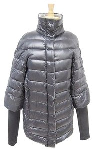 Vince Camuto Nylon Down Quilted Knit Sleeves Jack Coat