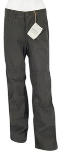 8.15 August Fifteenth Wrinkle Finish Straight Pants Army Olive Drab