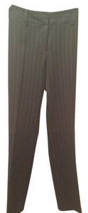 Mossimo Supply Co. Straight Pants Black pinstripe