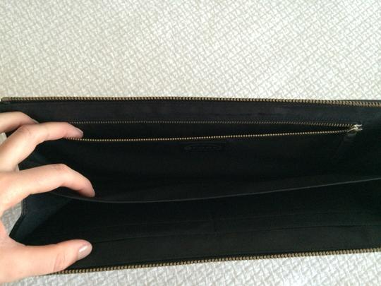 Scoop NYC Mirror Leather Black Clutch