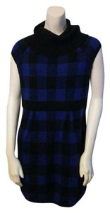 short dress Plaid Sweater on Tradesy