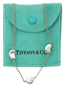 Tiffany & Co. Sterling Silver Elsa Peretti Bean Necklace