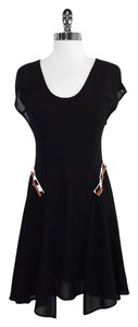 Vena Cava short dress Black Beaded Short Sleeve on Tradesy