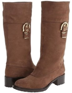 Salvatore Ferragamo Horsebit Brown Boots