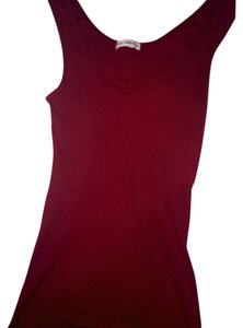 James Perse Top Maroon
