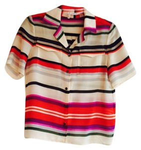 Derek Lam Button Down Shirt Multi