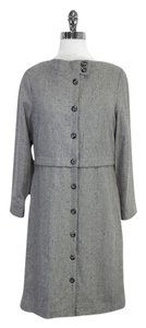Marc Jacobs Grey Wool Shift Dress