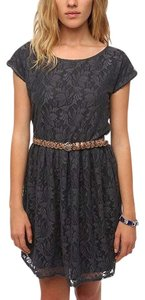 Urban Renewal short dress Gray Lace Outfitters on Tradesy