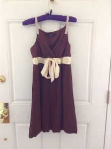 BCBGMAXAZRIA Brown Dress