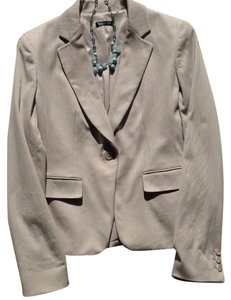 Tahari Tahari Cream with pink pinstriped blazer