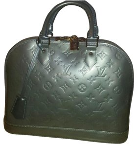 Louis Vuitton Satchel in Grey