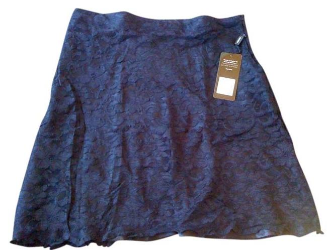 Daisy Fuentes Lace Skirt Black