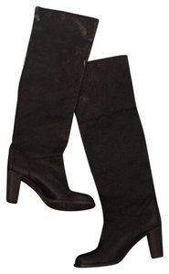 L'AGENCE Black leather Boots