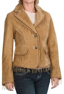 Scully Leather Boar Western Emo Tan Jacket