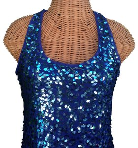 Boston Proper Racer-back Sequin Dress