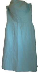 Glint short dress Pale Blue on Tradesy