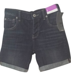 Mossimo Supply Co. Cut Off Shorts Dark wash