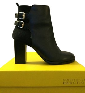 Kenneth Cole Suede Leather Bootie Deep Ink Boots