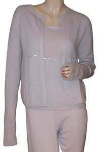 TSE Cashmere Twinset Beaded Easter Spring Cardigan