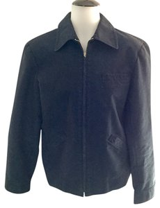 Philosophy di Alberta Ferretti Dark Blue With Slight Sheen Jacket