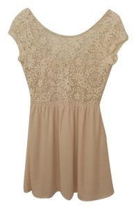Lovely Day short dress Cream on Tradesy