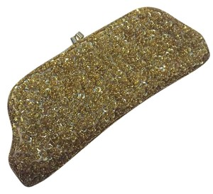 Vanessa Bruno Gold Clutch