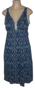 Blue Maxi Dress by Lucky Brand