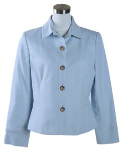 Ellen Tracy Pale Blue Blazer