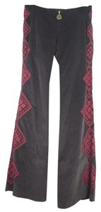 Tory Burch Flare Pants brown/grey