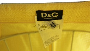 Dolce&Gabbana Skirt Yellow