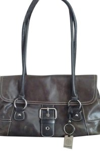 Giani Bernini Satchel in Brown Espresso