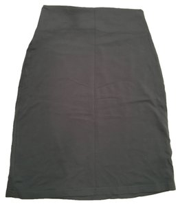 Susana Monaco Stretch Comfortable Skirt gray